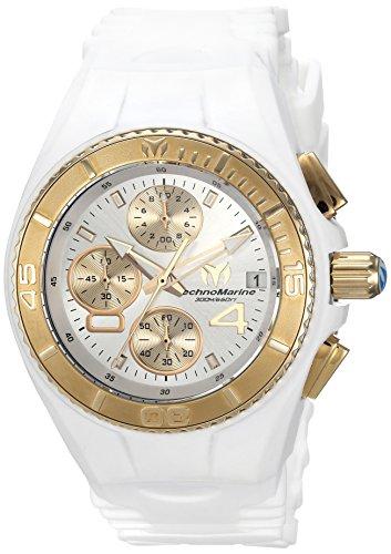 """テクノマリーン 腕時計 レディース TM-115361 【送料無料】Invicta Women""""s Cruise Stainless Steel Quartz Watch with Silicone Strap, White, 24 (Model: TM-115361)テクノマリーン 腕時計 レディース TM-115361"""