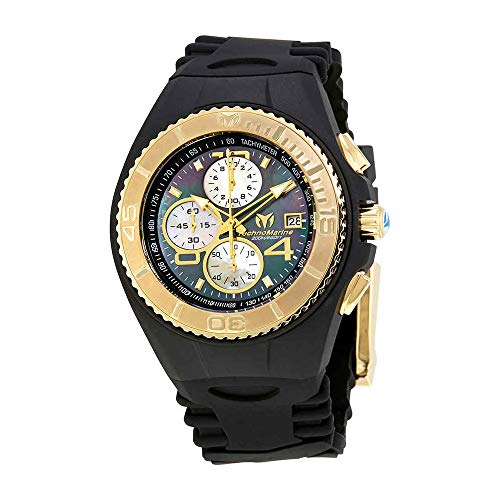 テクノマリーン 腕時計 メンズ TM-115353 Technomarine TM-115353 Men's NEW Cruise Jellyfish Black with Gold Watchテクノマリーン 腕時計 メンズ TM-115353