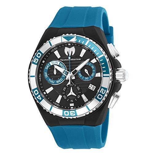 テクノマリーン 腕時計 メンズ TM-115163 Technomarine Men's Cruise Stainless Steel Quartz Watch with Nylon Strap, Blue, 29 (Model: TM-115163)テクノマリーン 腕時計 メンズ TM-115163