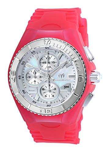 テクノマリーン 腕時計 レディース TM-115260 Technomarine Women's 'Cruise' Quartz Stainless Steel and Silicone Watch, Color:Pink (Model: TM-115260)テクノマリーン 腕時計 レディース TM-115260