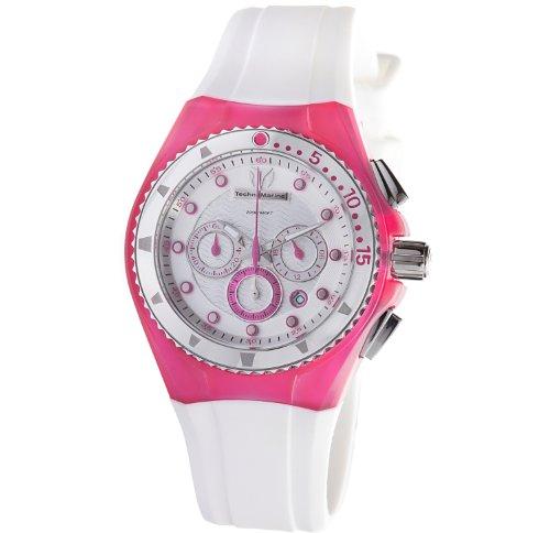 テクノマリーン 腕時計 レディース 109012 【送料無料】TechnoMarine Unisex 109012 Cruise Beach Pink/White Interchangeable Strap Watchテクノマリーン 腕時計 レディース 109012