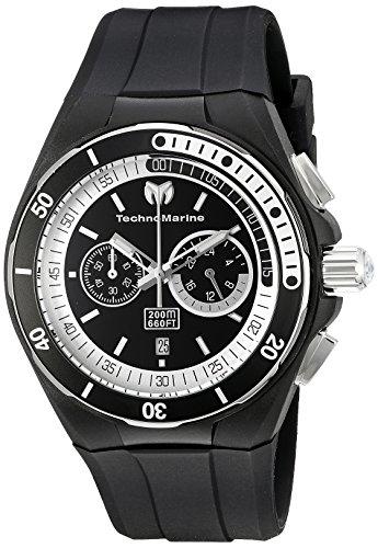 テクノマリーン 腕時計 メンズ TM-115159 Technomarine Men's TM-115159 Cruise Sport Analog Display Quartz Black Watchテクノマリーン 腕時計 メンズ TM-115159