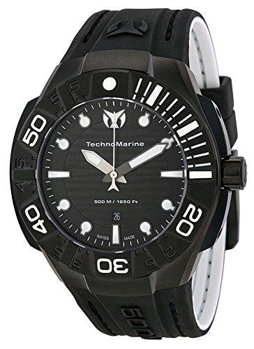 テクノマリーン 腕時計 メンズ 513003 TechnoMarine Men's 513003 Black Reef Watchテクノマリーン 腕時計 メンズ 513003