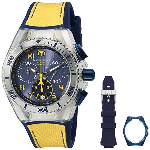 テクノマリーン 腕時計 レディース TM-115015 【送料無料】Technomarine Women's 'Cruise California' Swiss Quartz Stainless Steel Casual Watch (Model: TM-115015)テクノマリーン 腕時計 レディース TM-115015