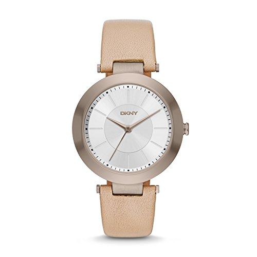 ダナ・キャラン・ニューヨーク 腕時計 レディース NY2459 DKNY Women's 'Stanhope' Quartz Stainless Steel and Beige Leather Casual Watch (Model: NY2459)ダナ・キャラン・ニューヨーク 腕時計 レディース NY2459