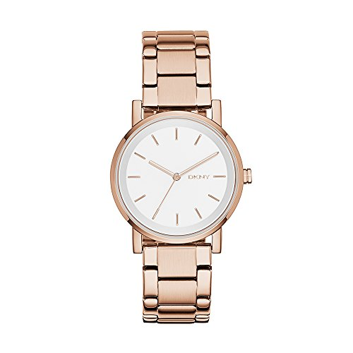 ダナ・キャラン・ニューヨーク 腕時計 レディース NY2344 【送料無料】DKNY Women's NY2344 Soho Rose Gold-Tone Stainless Steel Watchダナ・キャラン・ニューヨーク 腕時計 レディース NY2344