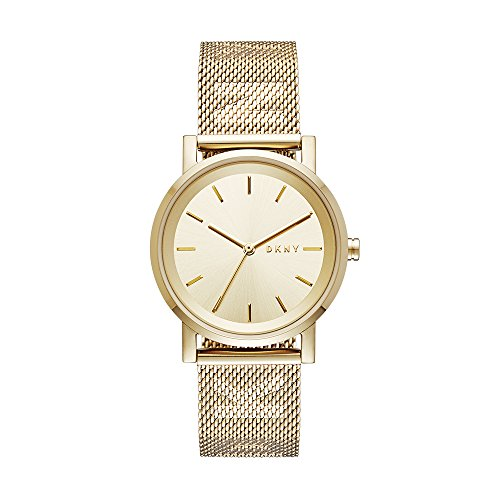 ダナ・キャラン・ニューヨーク 腕時計 レディース NY2621 DKNY Women's SoHo Analog-Quartz Watch with Stainless-Steel Strap, Gold, 18 (Model: NY2621)ダナ・キャラン・ニューヨーク 腕時計 レディース NY2621