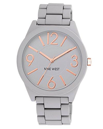 ナインウェスト 腕時計 レディース NW/1678GYRG 【送料無料】Nine West Women's NW/1678GYRG Watchme Analog Display Japanese Quartz Grey Bracelet Watchナインウェスト 腕時計 レディース NW/1678GYRG