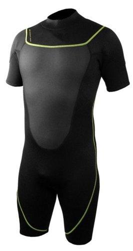 シュノーケリング マリンスポーツ 1003480 Deep See Men's 3mm Shorty Wetsuit, Black, 3X-Largeシュノーケリング マリンスポーツ 1003480