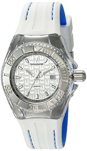 テクノマリーン 腕時計 レディース TM-115155 【送料無料】Technomarine Women's 'Cruise' Swiss Quartz Stainless Steel and Silicone Watch, Color:Two Tone (Model: TM-115155)テクノマリーン 腕時計 レディース TM-115155