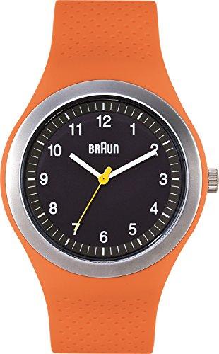 ブラウン 腕時計 メンズ BN0111BKORG 【送料無料】Braun Men's BN0111BKORG Sport Analog Display Quartz Orange Watchブラウン 腕時計 メンズ BN0111BKORG