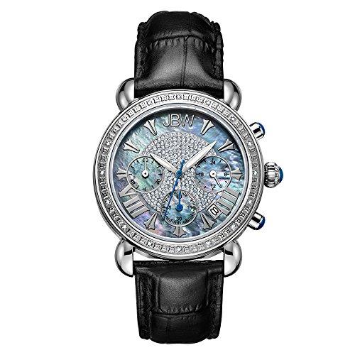 高級腕時計 レディース JB-6210L-C 【送料無料】JBW Luxury Women's Victory 0.16 Carat Diamond Wrist Watch with Leather Bracelet高級腕時計 レディース JB-6210L-C