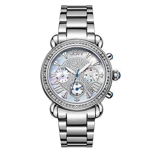 高級腕時計 レディース JB-6210-D JBW Luxury Women's Victory 0.16 Carat Diamond Wrist Watch with Stainless Steel Link Bracelet高級腕時計 レディース JB-6210-D