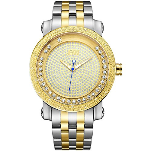 高級腕時計 メンズ J6338D 【送料無料】JBW Luxury Men's Hendrix 0.20 Carat Diamond Wrist Watch with Stainless Steel Bracelet高級腕時計 メンズ J6338D
