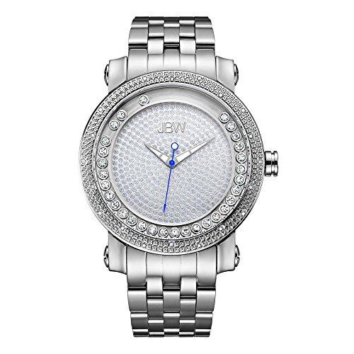 高級腕時計 メンズ J6338A JBW Luxury Men's Hendrix 0.20 Carat Diamond Wrist Watch with Stainless Steel Bracelet高級腕時計 メンズ J6338A