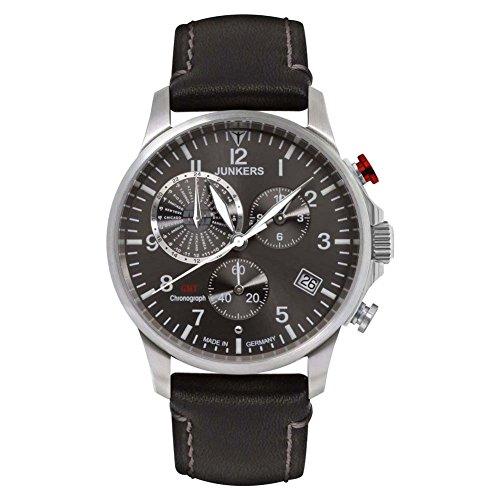 ユンカース ドイツ 腕時計 メンズ 6892-2 Junkers 6892-2 - SERIES WORLDTIMERユンカース ドイツ 腕時計 メンズ 6892-2