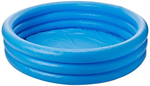 プール ビニールプール ファミリープール オーバルプール 家庭用プール 59416EP Intex Crystal Blue Inflatable Pool, 45 x 10