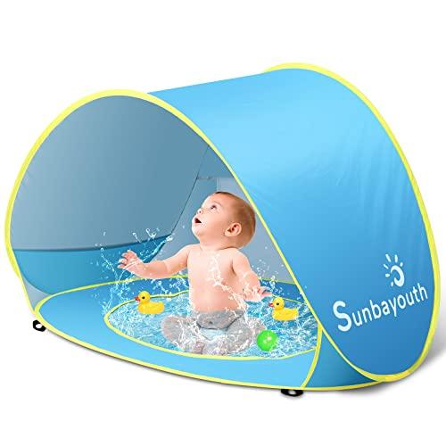 プール ビニールプール ファミリープール オーバルプール 家庭用プール Sunba Youth Pop up Portable Shade Pool UV Protection Sun Shelter for Infantプール ビニールプール ファミリープール オーバルプール 家庭用プール