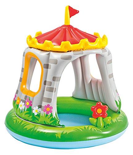 プール ビニールプール ファミリープール オーバルプール 家庭用プール 57122EP 【送料無料】Intex Royal Castle Baby Pool, 48