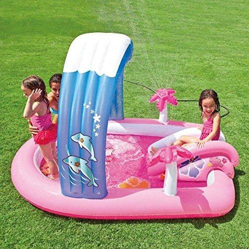 プール ビニールプール ファミリープール オーバルプール 家庭用プール Intex Hello Kitty Inflatable Play Center 83