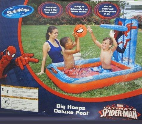 プール ビニールプール ファミリープール オーバルプール 家庭用プール Spider-man Big Hoops Deluxe Poolプール ビニールプール ファミリープール オーバルプール 家庭用プール