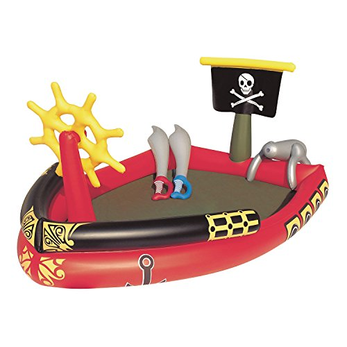 プール ビニールプール ファミリープール オーバルプール 家庭用プール 53041E H2OGO! Pirate Play Center Inflatable Poolプール ビニールプール ファミリープール オーバルプール 家庭用プール 53041E