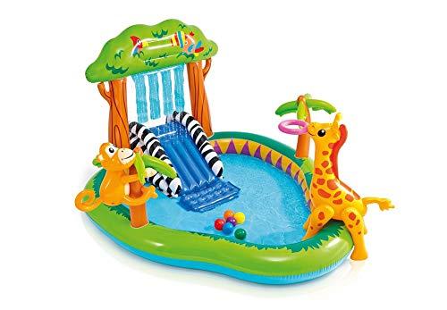 プール ビニールプール ファミリープール オーバルプール 家庭用プール 1100 【送料無料】Intex Jungle Play Center Inflatable Pool with Sprayerプール ビニールプール ファミリープール オーバルプール 家庭用プール 1100