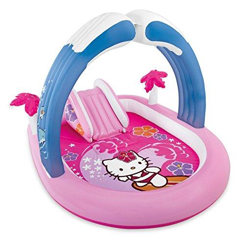 プール ビニールプール ファミリープール オーバルプール 家庭用プール 57137EP Intex Hello Kitty Inflatable Play Center, 83