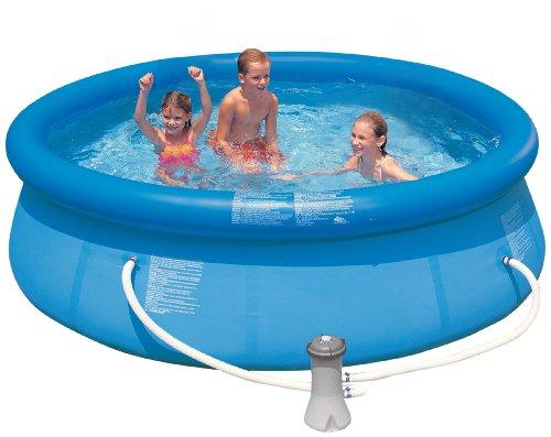 プール ビニールプール ファミリープール オーバルプール 家庭用プール 28121EG Intex 10-Feet x 30-Inch Easy Set Poolプール ビニールプール ファミリープール オーバルプール 家庭用プール 28121EG