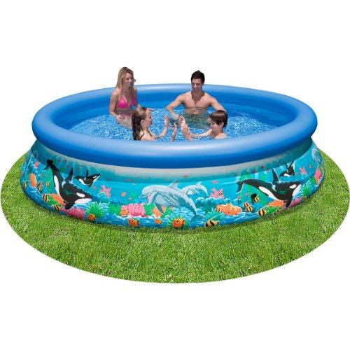 プール ビニールプール ファミリープール オーバルプール 家庭用プール 28124E Intex 10 X 30 Ocean Reef Easy Set Pool Byプール ビニールプール ファミリープール オーバルプール 家庭用プール 28124E