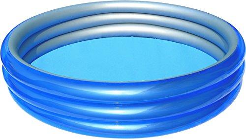 プール ビニールプール ファミリープール オーバルプール 家庭用プール 51044B H2OGO! Big Metallic 3-Ring Inflatable Play Poolプール ビニールプール ファミリープール オーバルプール 家庭用プール 51044B