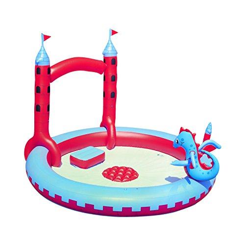 プール ビニールプール ファミリープール オーバルプール 家庭用プール 53037B H2OGO! Inflatable Interactive Castle Play Poolプール ビニールプール ファミリープール オーバルプール 家庭用プール 53037B