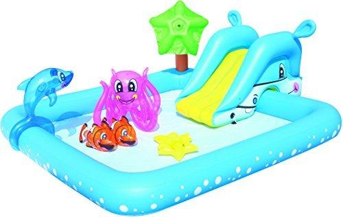 プール ビニールプール ファミリープール オーバルプール 家庭用プール Bestway 94 x 81 x 34-inch Fantastic Aquarium Play Pool by Bestwayプール ビニールプール ファミリープール オーバルプール 家庭用プール
