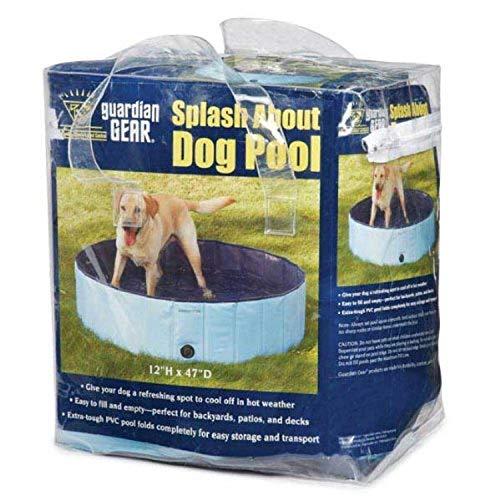 プール ビニールプール ファミリープール オーバルプール 家庭用プール ZW3188 10 92 Cool Pup Splash About Dog Pool in Blue, Portableプール ビニールプール ファミリープール オーバルプール 家庭用プール ZW3188 10 92