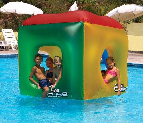 フロート プール 水遊び 浮き輪 9088 Swimline The Cube Inflatable Pool Floatフロート プール 水遊び 浮き輪 9088