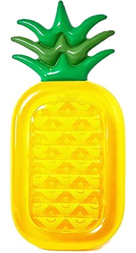フロート プール 水遊び 浮き輪 Vickea Inflatable Pineapple Pool Float Raft Large Outdoor Swimming Pool Inflatable Float Toy Floatie Lounge Toy for Adults & Kidsフロート プール 水遊び 浮き輪