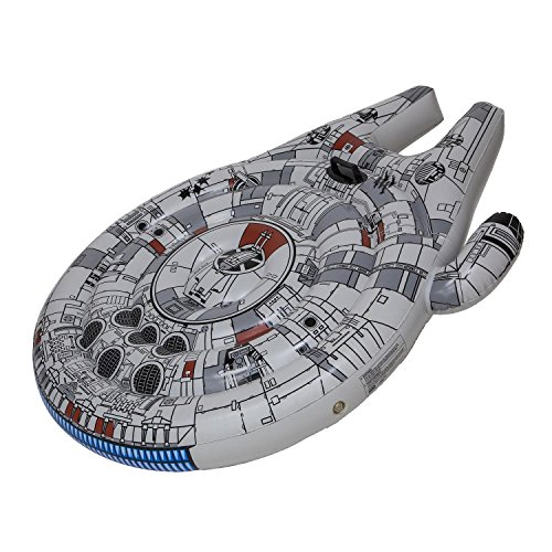 フロート プール 水遊び 浮き輪 29141 SwimWays Star Wars Millenium Falcon Ride-On Float - Inflatable Novelty Float for Poolフロート プール 水遊び 浮き輪 29141