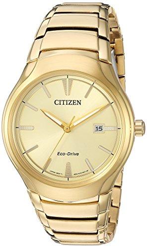 """シチズン 逆輸入 海外モデル 海外限定 アメリカ直輸入 AW1552-54P 【送料無料】Citizen Men""""s """"Dress"""" Quartz Stainless Steel Casual Watch, Color:Gold-Toned (Model: AW1552-54P)シチズン 逆輸入 海外モデル 海外限定 アメリカ直輸入 AW1552-54P"""