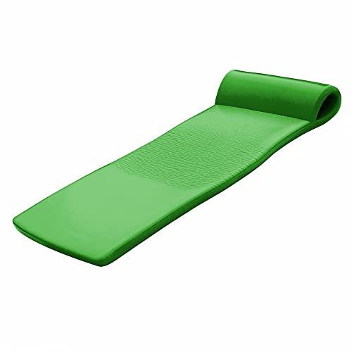 """フロート プール 水遊び 浮き輪 California Sun Vandue Kiwi Green Deluxe Oversized Unsinkable Soft Foam Cushion Pool Float, 70"""" x 25""""フロート プール 水遊び 浮き輪"""