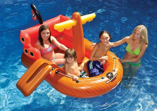フロート プール 水遊び 浮き輪 Pirate Ship Pool Floatフロート プール 水遊び 浮き輪