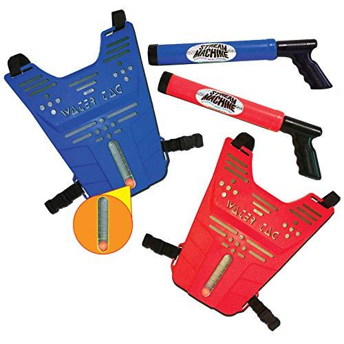 フロート プール 水遊び おもちゃ 80020 【送料無料】Stream Machine Water Tag Set with Two Stream Machine Water Guns & Two Vestsフロート プール 水遊び おもちゃ 80020