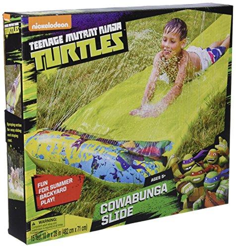 フロート プール 水遊び おもちゃ NNT27706 Teenage Mutant Ninja Turtles Cowabunga Single Slide Ride Onフロート プール 水遊び おもちゃ NNT27706
