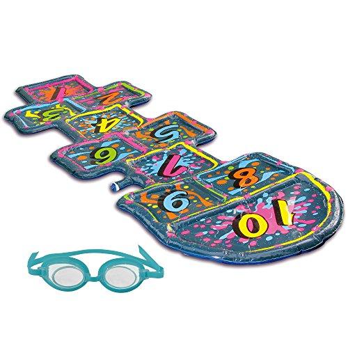 フロート プール 水遊び おもちゃ NT2138 Blue Wave 3D Action Hopscotch Sprinkler Matフロート プール 水遊び おもちゃ NT2138