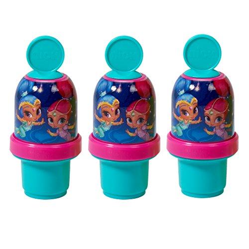 フロート プール 水遊び おもちゃ 99955E Little Kids Shimmer & Shine Mini Tumbler (3 Pack)フロート プール 水遊び おもちゃ 99955E