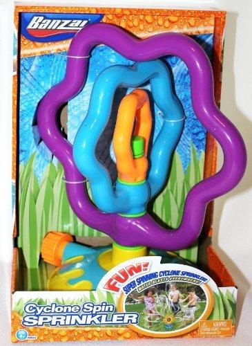 フロート プール 水遊び おもちゃ Banzai Cyclone Spin Sprinkler by Banzaiフロート プール 水遊び おもちゃ