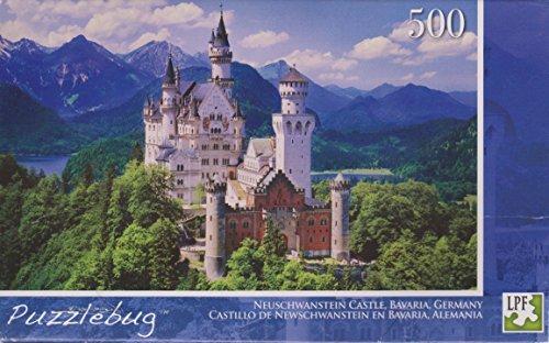 フロート プール 水遊び おもちゃ Neuschwanstein Castle 【送料無料】Puzzlebug 500 Piece Puzzle - Neuschwanstein Castleフロート プール 水遊び おもちゃ Neuschwanstein Castle