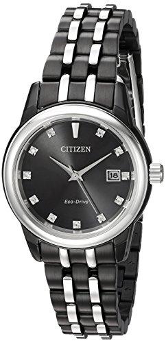 シチズン 逆輸入 海外モデル 海外限定 アメリカ直輸入 EW2398-58E Citizen Women's Diamond Japanese-Quartz Watch with Stainless-Steel Strap, Two Tone, 14 (Model: EW2398-58E)シチズン 逆輸入 海外モデル 海外限定 アメリカ直輸入 EW2398-58E