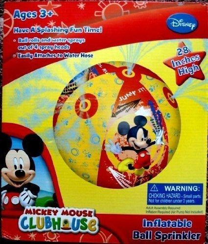 フロート プール 水遊び おもちゃ Disney Mickey Mouse Clubhouse, Giant Ball Water Sprinkler, 28 inches, Rolls and Spraysフロート プール 水遊び おもちゃ