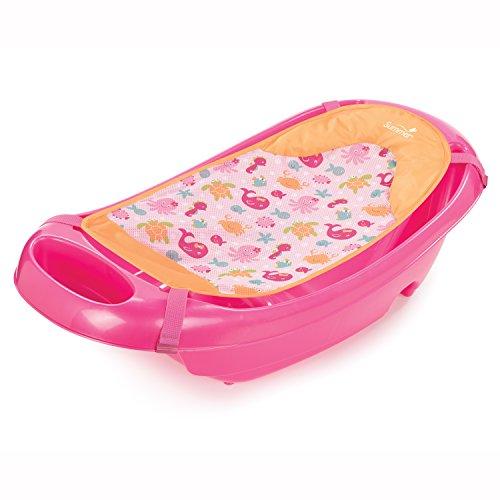 フロート プール 水遊び 浮き輪 19395 Summer Infant Splish 'n Splash Newborn to Toddler Tub, Pinkフロート プール 水遊び 浮き輪 19395