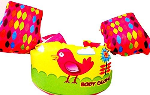フロート プール 水遊び 浮き輪 Body Glove Pink Shore Bird Paddle Pals Learn to Swim Life Jacket PFD 13226scフロート プール 水遊び 浮き輪